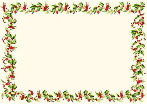 Decoration For Home horizontal holly border christmas photo card