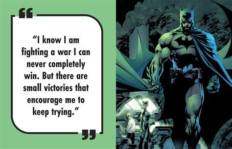 dc comics batman quotes  gotham city book