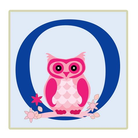 how to o lettre o owl illustration photo stock libre public