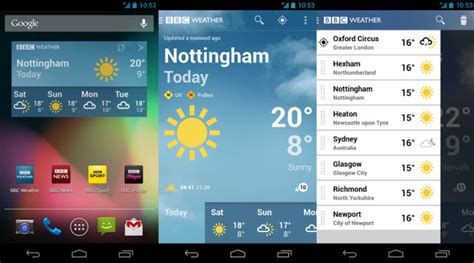 weather apps free android free weather android app launched in the u k