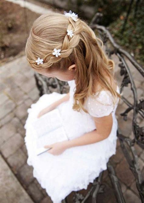 cute hairstyles for first comunion first communion hairstyles festive hairstyles for little