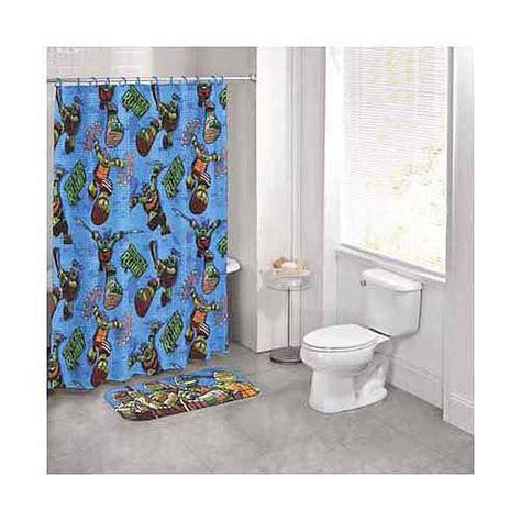 turtle bathroom set nickelodeon teenage mutant ninja turtles 14 piece bath set