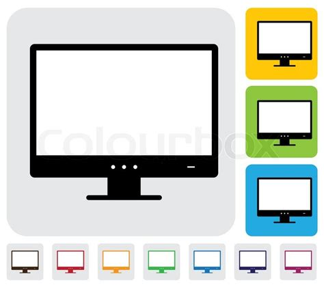 print layout computer definition flat lcd or led high definition computer monitor screen