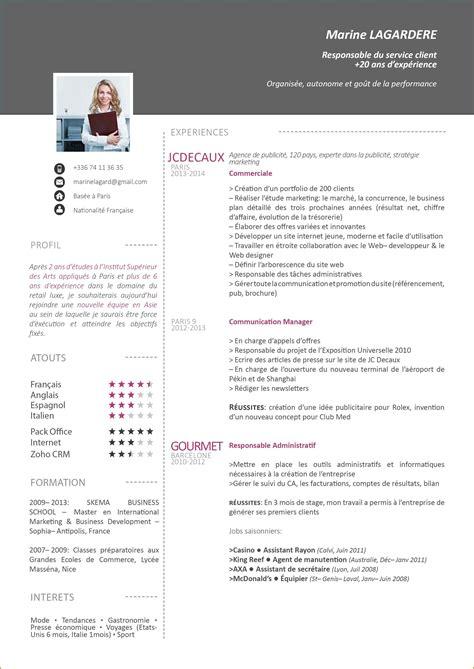 Modele De Lettre Word Gratuit 12 Mod 232 Le Cv Original Gratuit Word Format Lettre