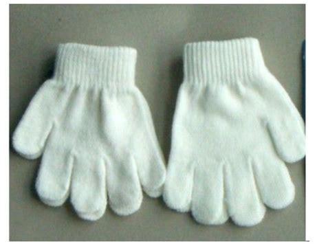 white knit gloves white stretch knit gloves small size for children