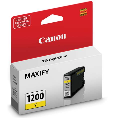 Canon Cartridge Cl 751 Yellow canon pgi 1200 yellow ink cartridge 9234b001 b h photo