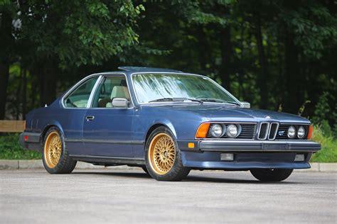 bmw e24 bmw 635csi e24 1986 model review
