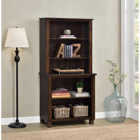 ameriwood san antonio espresso open bookcase 9662196com