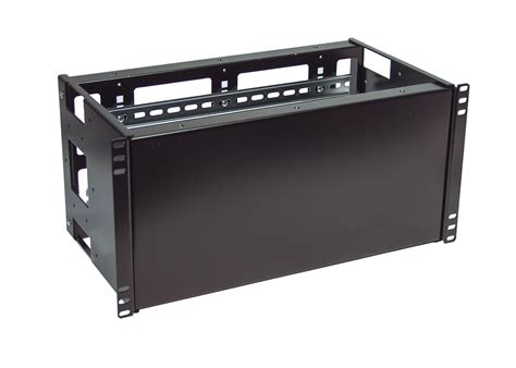 5u rackmount dual din rail and solid panel for standard 19