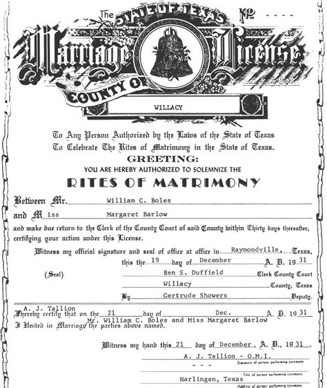 Marriage Records San Antonio Texan Marriages 1837 1977 Familytree