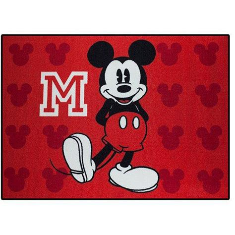 Mickey Mouse Area Rug Mickey Mouse Decor Totally Totally Bedrooms Bedroom Ideas