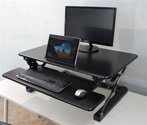 Desk Top Raiser Retrofit Standing Desk Sit To Stand Best Sit To Stand Desk