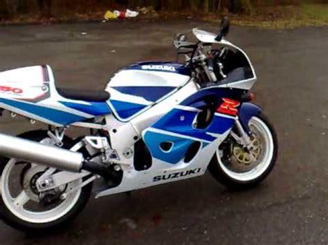 97 Suzuki Gsxr 750 Suzuki Gsx R 750 Srad 1997 128ps Engine Sound 13 01 08
