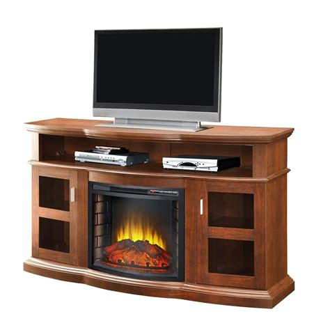 media fireplaces cheap pleasant hearth media console with 24 inch firebox cherry finish 248 12 68m canada discount