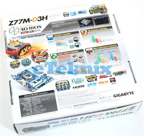 reset bios ga z77m d3h gigabyte ga z77m d3h z77 motherboard preview page 2 of 5