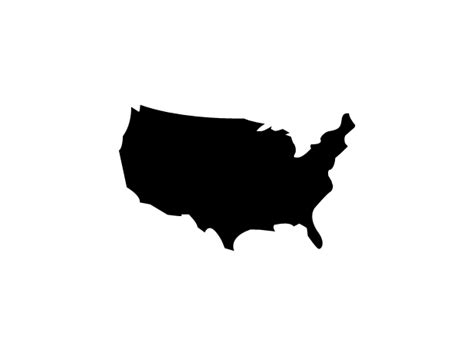 us map outline icon america map icon endless icons