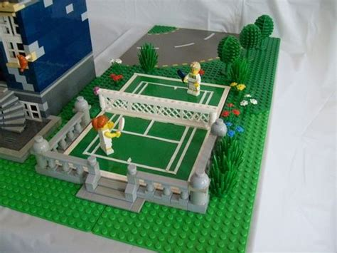 Football Court Lego image gallery lego tennis court