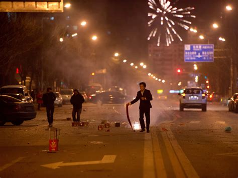 beijing new year fewer new year fireworks in polluted beijing inquirer news