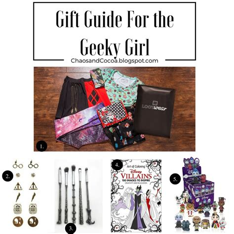 geeky girl christmas geeky gift guide chaos and cocoa