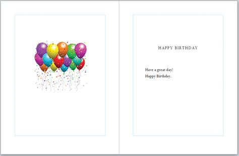 birthday card templates publisher 2007 a greeting card in ms publisher 2010 chester