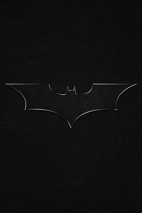 wallpaper batman apple freeios7 batman logo parallax hd iphone ipad wallpaper