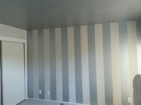 painted walls diy interior painting vertical stripes make ceilings look