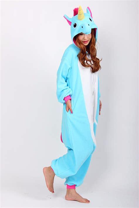 Costume Sleep Wear Import T1310 3 unicorn kigurumi pajamas animal costume unisex