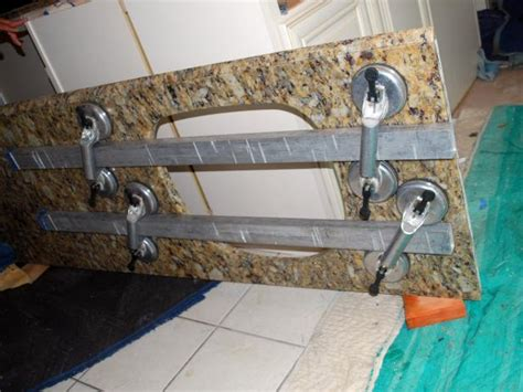 Transporting Granite Countertops by How To Install A Granite Kitchen Countertop How Tos Diy