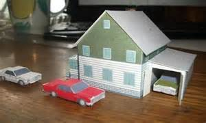 Paper Craft House - new paper craft a paper model house for diorama ver 2