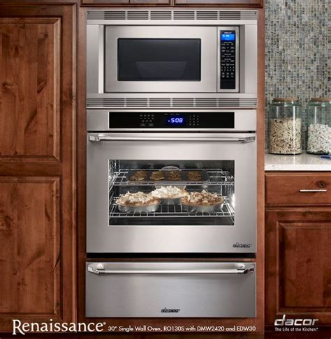 Wall Oven With Warming Drawer Combo by Dacor Microwave Oven And Warming Drawer Combo Kitchen