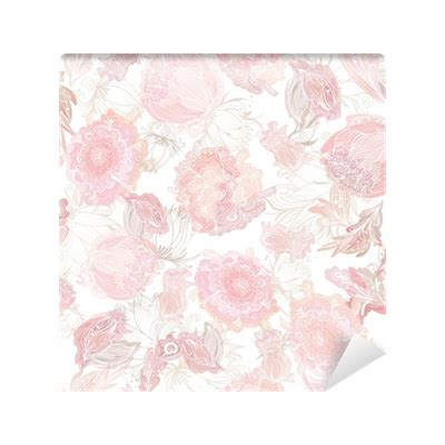 soft pattern png romantic soft vector floral pattern wall mural pixers