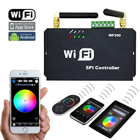 Addressable Led Pc Controller - dc5 24v wf300 series 2 4ghz wifi rf wireless controller
