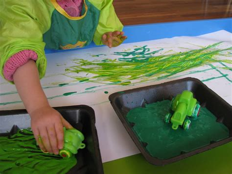 green crafts for where is the green sheep learning 4