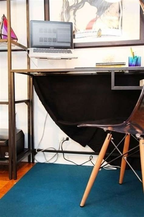Hide Computer Cables Desk by 1000 Ideas About Hide Cable Cords On Hide