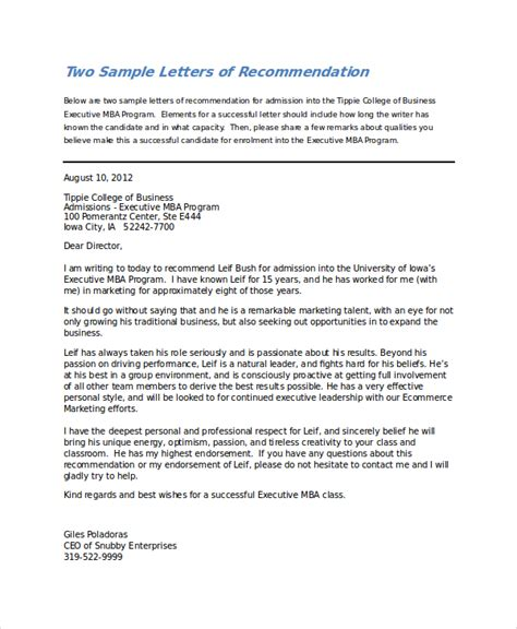 Recommendation Letter From College Principal sle endorsement letter 8 simple endorsement letter