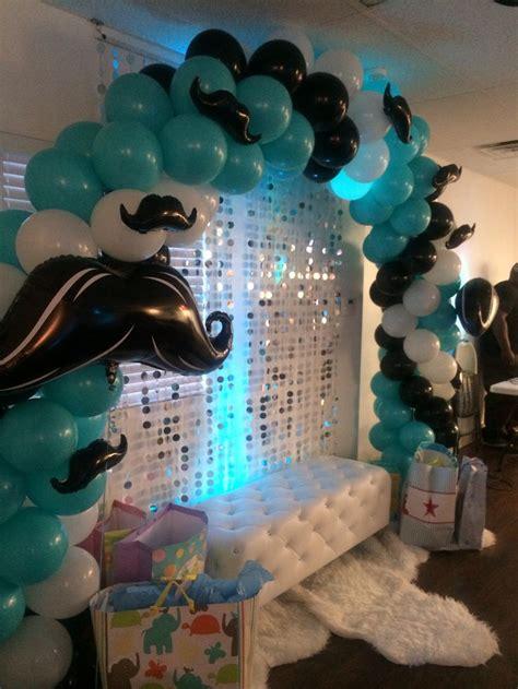 Mustache Theme Baby Shower by Best 25 Gentleman Baby Shower Decorations Ideas On