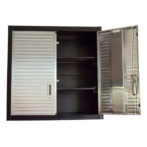 garage storage wall cabinets shop for maxim hd 2 door wall cabinet overhanging storage