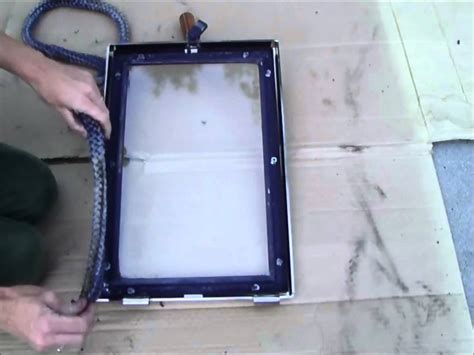 Stove Glass Door Replacement How To Replace A Wood Stove Door Rope Gasket