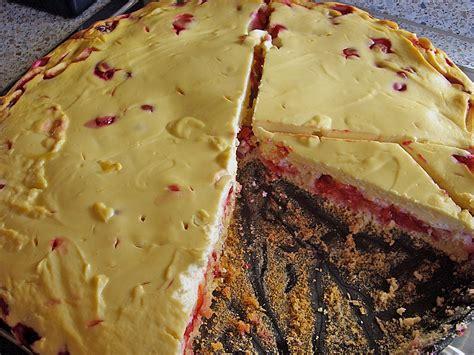 kirsch quark kuchen kirsch quark kuchen rezept mit bild tweety1982