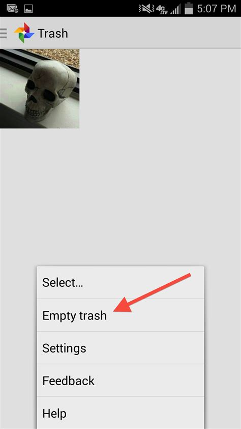 android empty trash how to delete your photos from the cloud vox