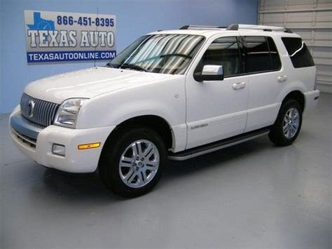 purchase used 2010 mercury mountaineer premier awd navigation rear dvd heated seats sync black purchase used we finance 2010 mercury mountaineer premier awd roof nav leather texas auto in