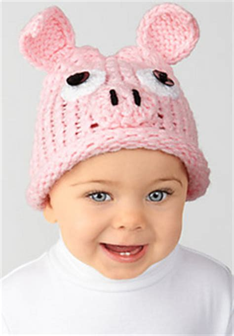 knitted pig hat ravelry simplicity creative website patterns