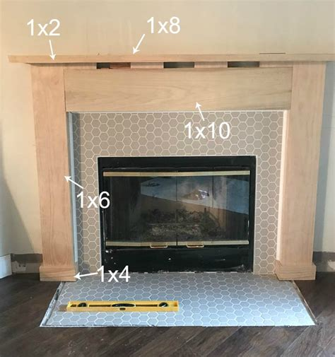 tile fireplace makeover fireplace makeover drab to fab complete fireplace makeover