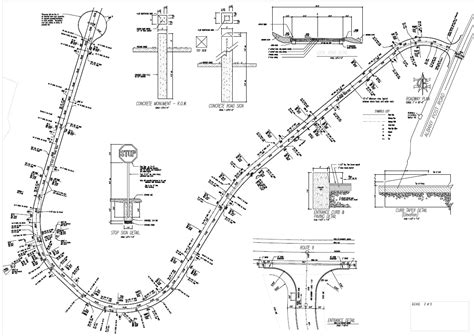 layout design engineer roadway layout and profiles red hook engineering