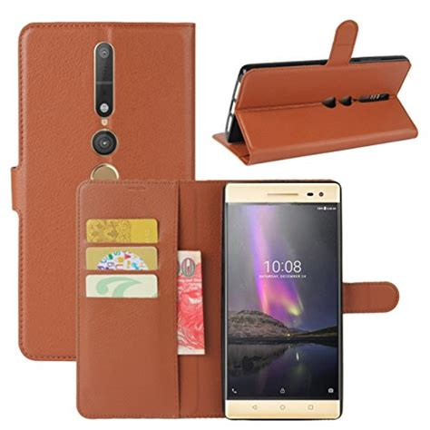 Wallet Pu Leather Syntetic Book Cover Casing Lenovo Vibe K5 K5 Plus lenovo phab 2 pro fettion premium pu leather wallet