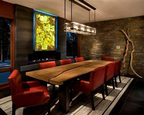 modern mountain home contemporary living room modern mountain home contemporary dining room other