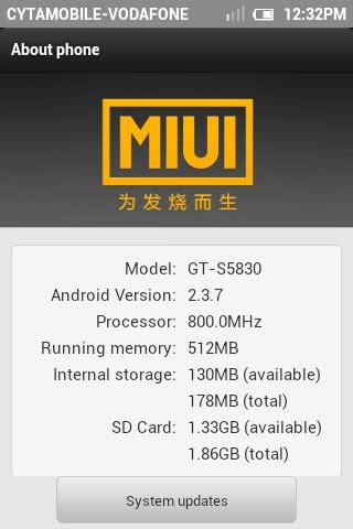 miui theme editor xda android freaks screenshots of miui gingerbread rc3 on