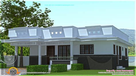 single home plans single floor house design square indian plans house