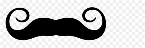 black logo kumis silhouette moustache png