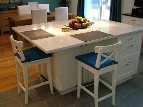 size of kitchen island with seating trendy kitchen islands with seating for 4 106 kitchen